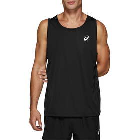 asics Silver Singlet Men performance black